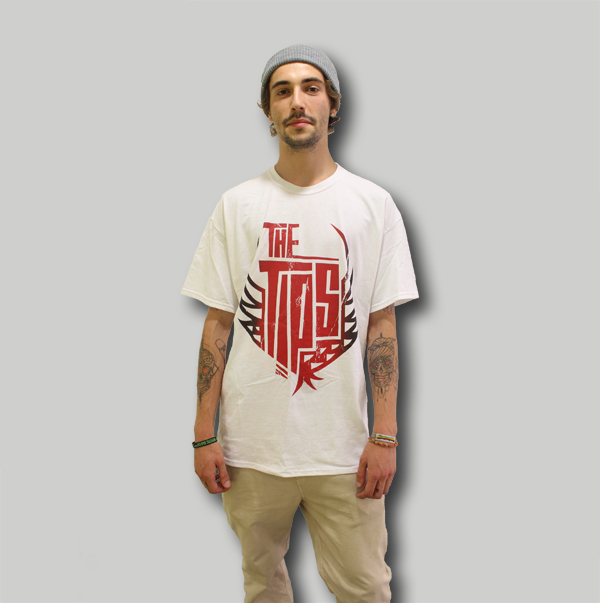 TiPS Heritage Clothing Logo Red Tee