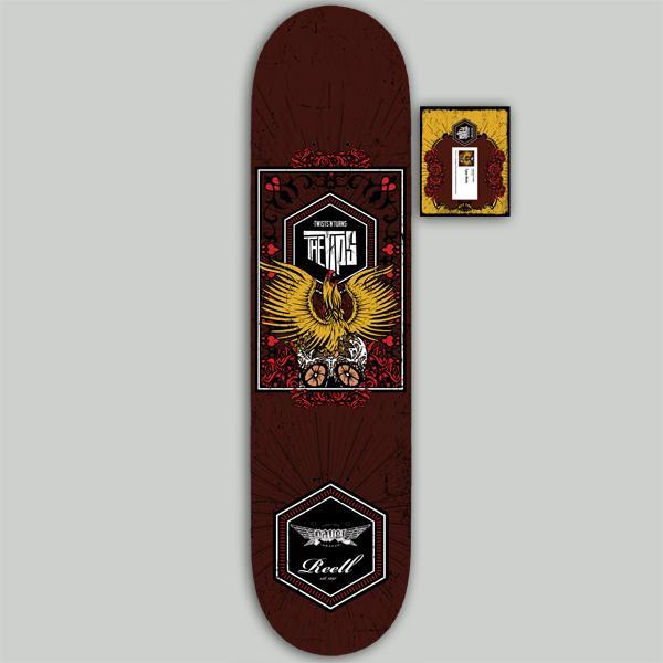 TWISTS'N'TURNS Skateboard Edition