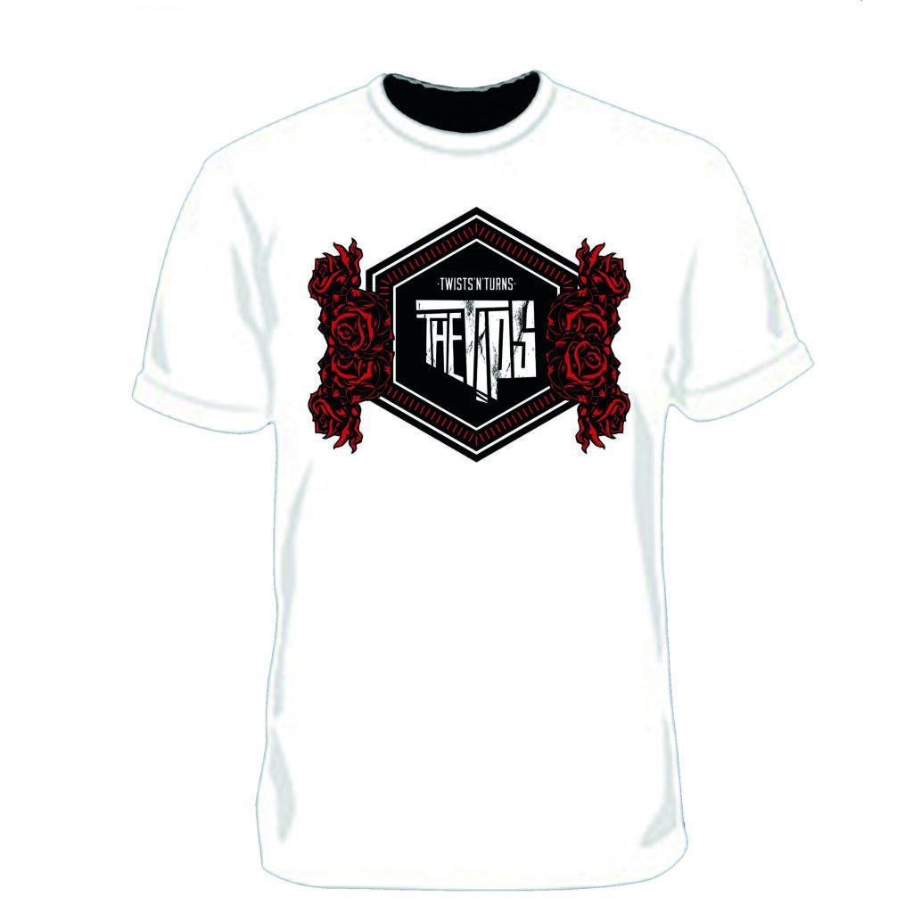 Tips Heritage Clothing  Twists'n'Turns Logo Shirt  white