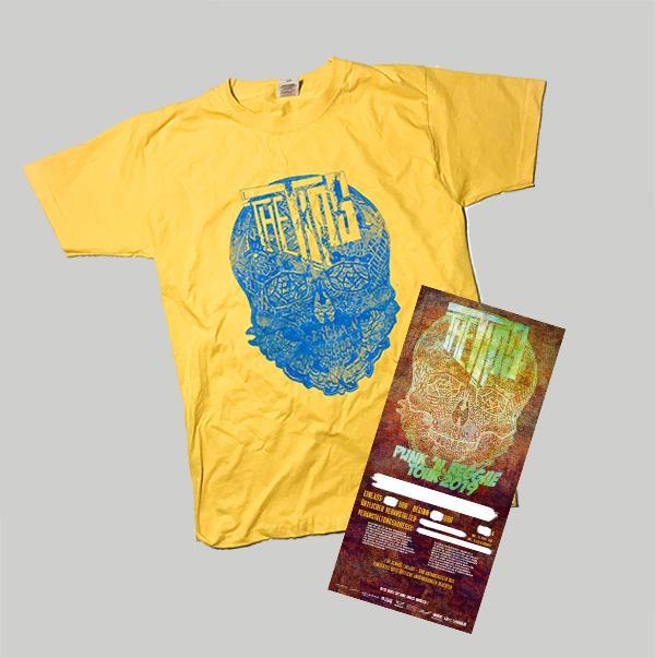 PUNK'N'REGGAE Yellow Shirt  + Ticket (Bitte Stadt mit angeben)