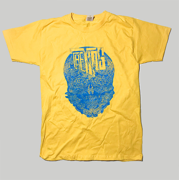 Tips Heritage Clothing – Yellow Skull Shirt