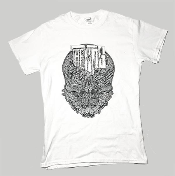 Tips Heritage Clothing – White Skull Shirt