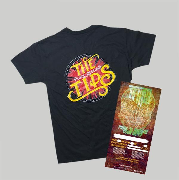 NEW Logo Shirt  + Ticket (Stadt bitte mit angeben)